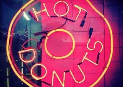 Donut Land Neon Sign