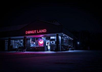 Donut Land Neon
